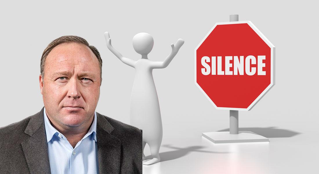 Alex Jones Silence
