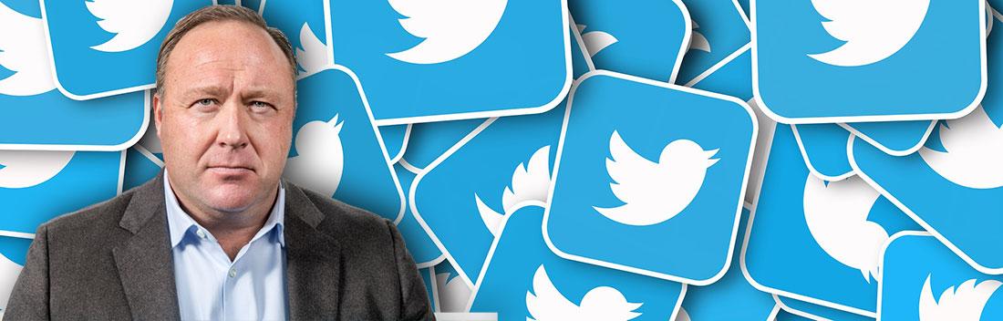 Twitter rechtfertigt Nicht-Sperrung von Alex Jones